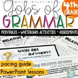 4th Grade Grammar Common Core ~ Grammar Lessons, Worksheets, Activities NO PREP