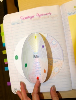Gobstopper Science Lesson on Diffusion with Interactive Notebooks Inserts