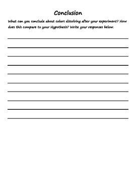 Gobstopper Scientific Method Activity Sheet
