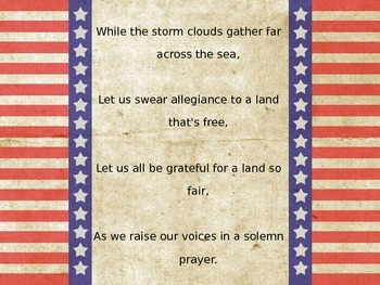 God Bless America Sing Along