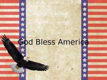 God Bless America Sing Along