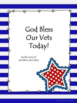 God Bless Our Vets Today