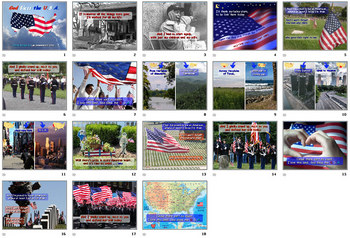 God Bless the U.S.A.  - PowerPoint