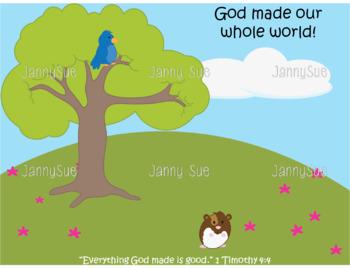 God Created Animals Craft