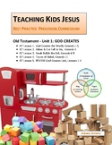 God Creates Unit_GENESIS 1-11 Teaching Kids Jesus Best Practice Preschool