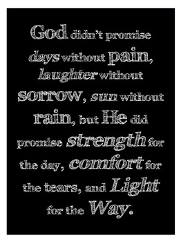 God Didn't Promise Poster