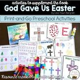 God Gave Us Easter Preschool Bible Lessons