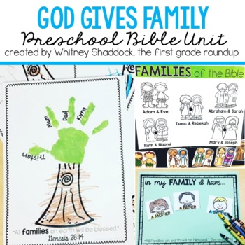 Family Bible Unit for Ages 3-6