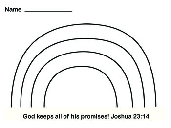 God Keeps His Promises Me Book Page