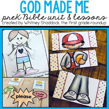 Bible Unit: God Made Me