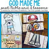 God Made Me Bible Unit