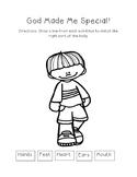 God Made Me Special - Worksheet Bundle