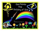 God Paints: Looking at Nature to review ELA skills