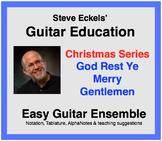 God Rest Ye Merry Gentlemen - Christmas Guitar Ensemble, G