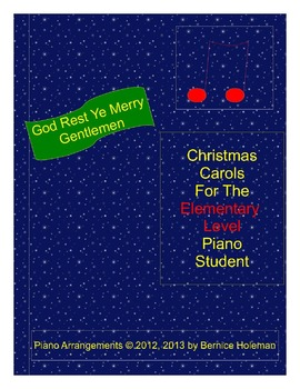 God Rest Ye Merry Gentlemen from the Christmas Carols collection