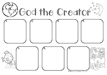 God The Creator - 7 Days of Creation
