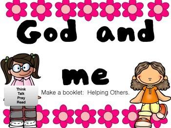 Social Stories - linked to the Bible X6 Think, Talk, Pray. Homeschool