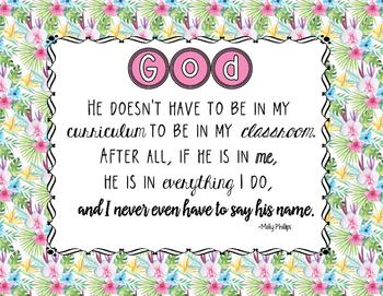 God in Me Poster