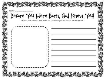 God is Love: Draw, Write, Pray!
