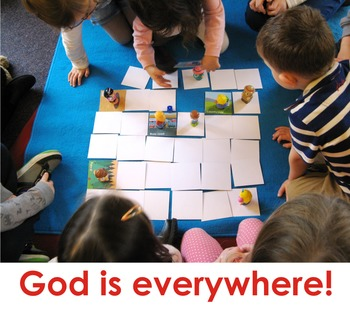God is everywhere game (US version)