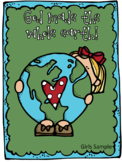 God made our world Bible story craft for boys & girls