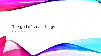 God of Small Things Chapter Four