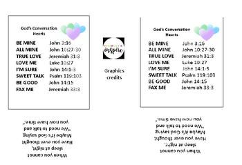 God's Conversation Hearts