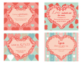 God's Love Scripture Verse Printable Cards