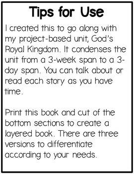 God's Royal Kingdom Flip Book