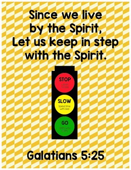 God's Traffic Light - Stop, Slow, and Go God's Way