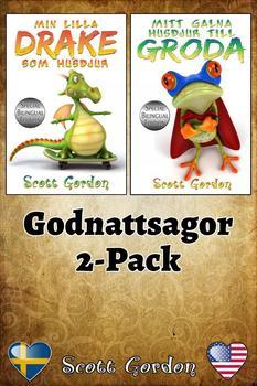Godnattsagor 2-Pack (Bilingual Swedish + English)