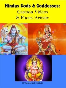 Hindu Gods & Goddesses: Cartoon Videos & Poetry Activity