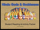 Gods & Goddesses of Hinduism: Student Activity & Reading Packet