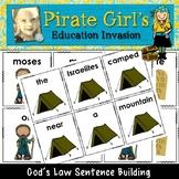 God's Law Sentence Building Activity