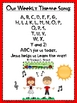 Bible Verse ABC's God's Word KJV Edition (Posters and Colo