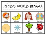 God's World Bingo Game