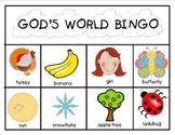 God's World Bingo Game