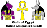 Gods of Egypt Online Assignment Bundle (Word Document)