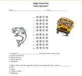 Goes Upstream - Magic School Bus Quiz - Multiple Choice