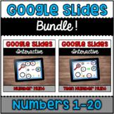 Google Slides™ Bundle: Numbers 1-10 Hunt & Teen Number Hunt | Distance Learning