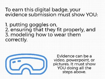 Goggles Digital Badge