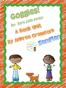 Goggles Guided Reading Unit ~ Book by Ezra Jack Keats {Sampler}