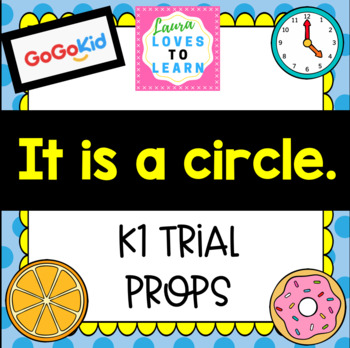 """GogoKid """"It is Red"""" Trial Lesson Props"""