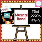 """GogoKid """"Musical Band"""" Trial Lesson Props"""