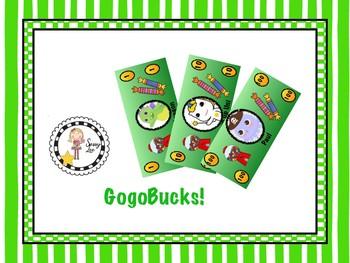 GogoKid Pretend Money - gogobucks for gogofun!