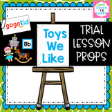 """GogoKid """"Toys We Like"""" Trial Lesson Props"""