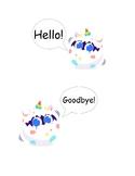 Gogokid Uni Hello / Goodbye Sign