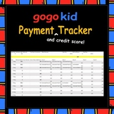Gogokid Payment (and Credit Score!) Tracker