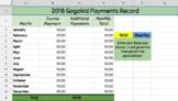 Gogokid Standby Payment Tracker