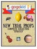 **UPDATED 4/19**Gogokid Trial 2-D Prop Printables - ALL **
